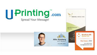 Uprinting Business Card Giveaway