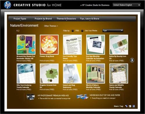 HP Creative Studio - Nature & Environment