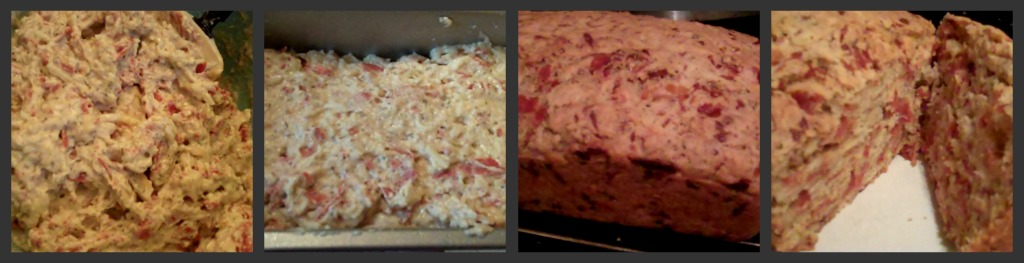 Pepperoni Bread collage