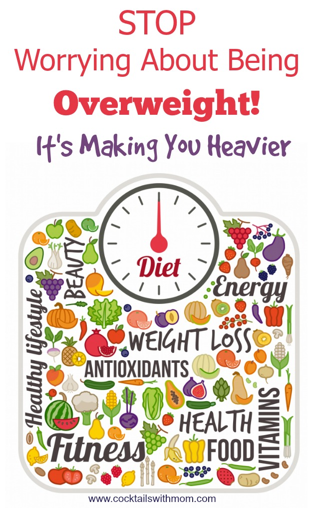 worrying about being overweight
