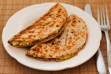 healthy quesadillas