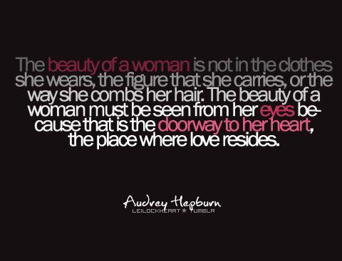 audrey hepburn beauty quote