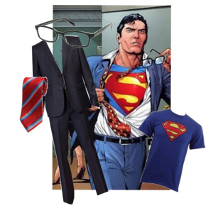 Diy halloween costume ideas cocktails with mom for Make your own superman shirt
