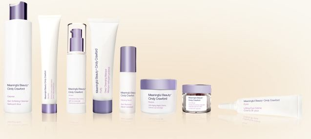 Cindy Crawfords Meaningful Beauty Anti-Aging Skin Care System