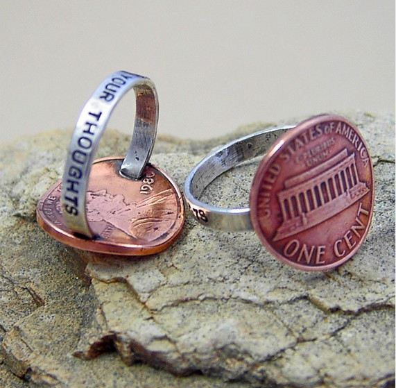 Penny For Your Thoughts Ring