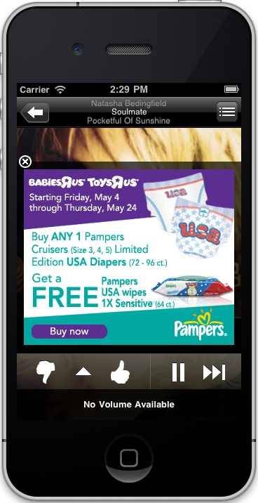 New Pampers Radio Stations Featured on Pandora + Giveaway