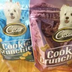 Our Pup Spinna Loves the New Cesar Cookie Crunchies