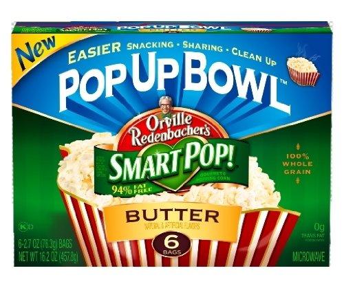 Smart Snacking with Orville Redenbacher's SmartPop!