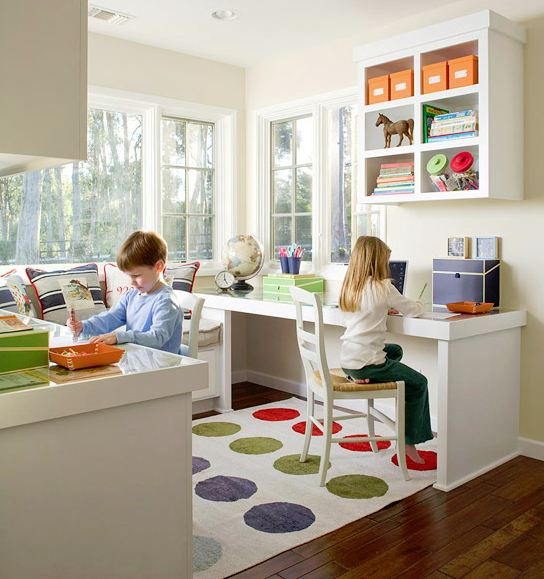 Study Room For Kids: Cool Homework Spaces For Kids