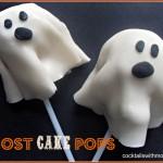 HALLOWEEN TREAT: GHOST CAKE POPS
