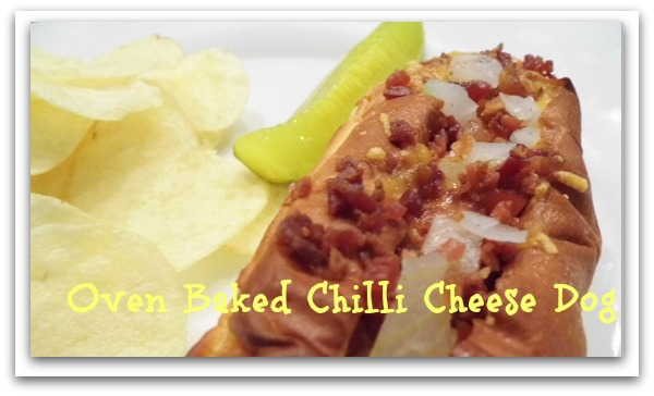 Oven Baked Chili Cheese Dogs #kingshawaiian $200 Giveaway