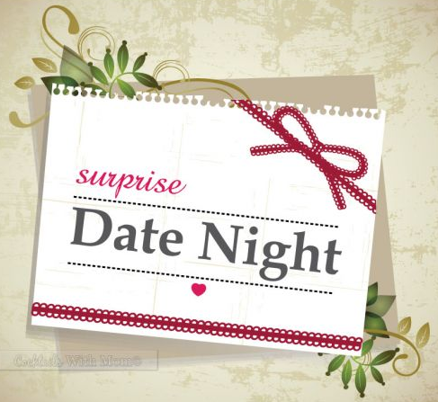 ways to surprise hubby with a date night