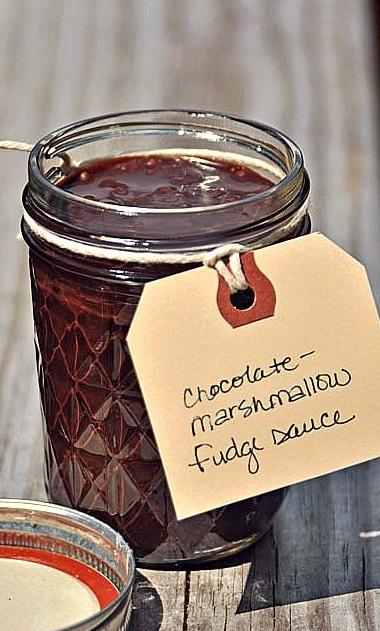 Chocolate-Marshmallow Fudge Sauce