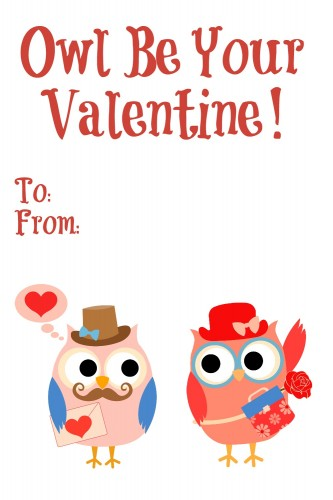 Printable Valentine's Cards | Cocktails with Mom