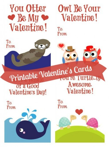 Free Valentine S Day Card Printables