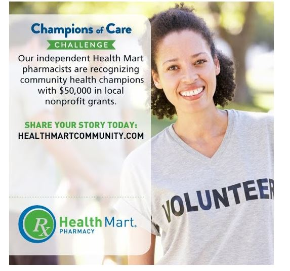 Champions of Care Challenge from Health Mart: Nominate a Local Hero! #HealthMartCares #ad