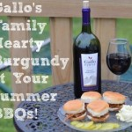 Gallo's Family Hearty Burgundy at Your Summer BBQ #HBturns50