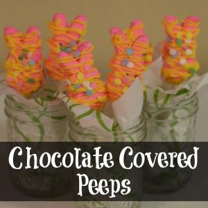 Chocolate Covered Peeps