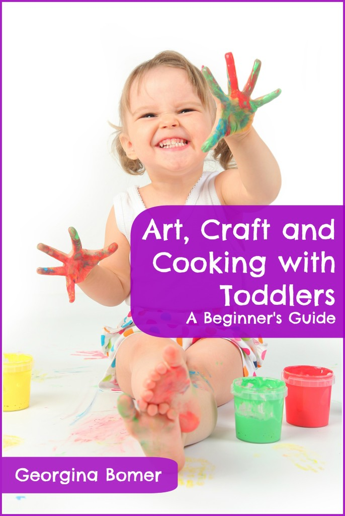 New ebook from Craftulate: Art, Craft and Cooking with Toddlers