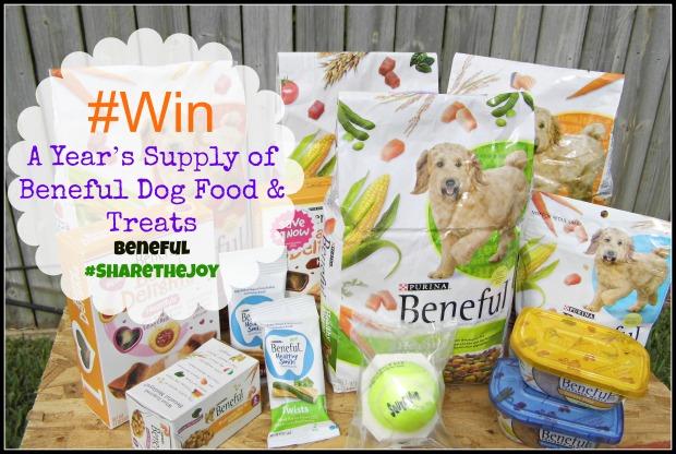 #Win a Year's Supply of Beneful Dog Food & Treats