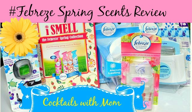 Fresh Spring Scents with Febreze # FebrezeSpring