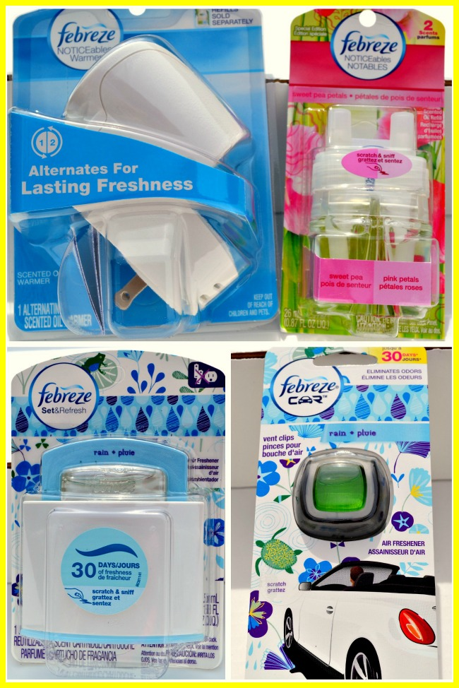 febreze spring collection