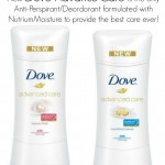 New Dove Advanced Care Deodorant with Nutrium Moisture! #MC #Dove #Sponsored