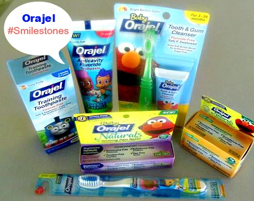 orajel baby products