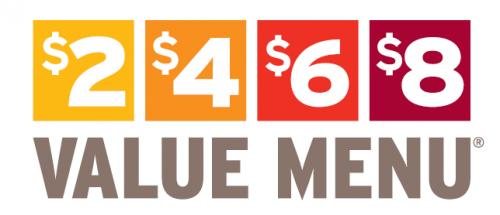 2468 value menu