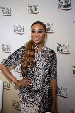 Cynthia Bailey at the MBIB   Booth