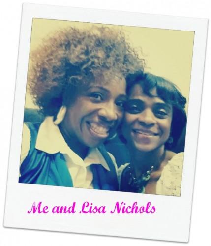 Lisa Nichols & me2