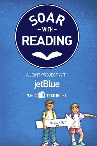 jet blue, magic tree house