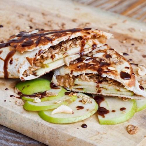 Peanut-Butter-Apple-Snack-Wraps