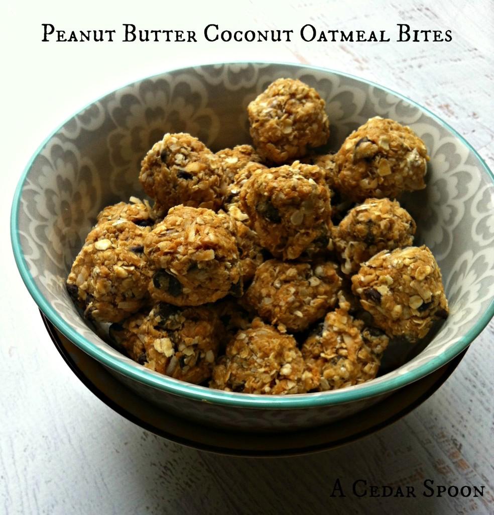 Peanut-Butter-Coconut-Oatmeal-Bites-