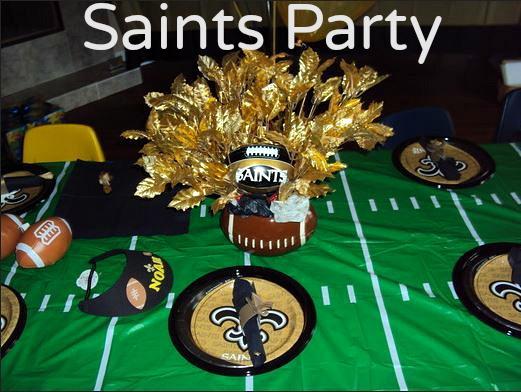 saints party