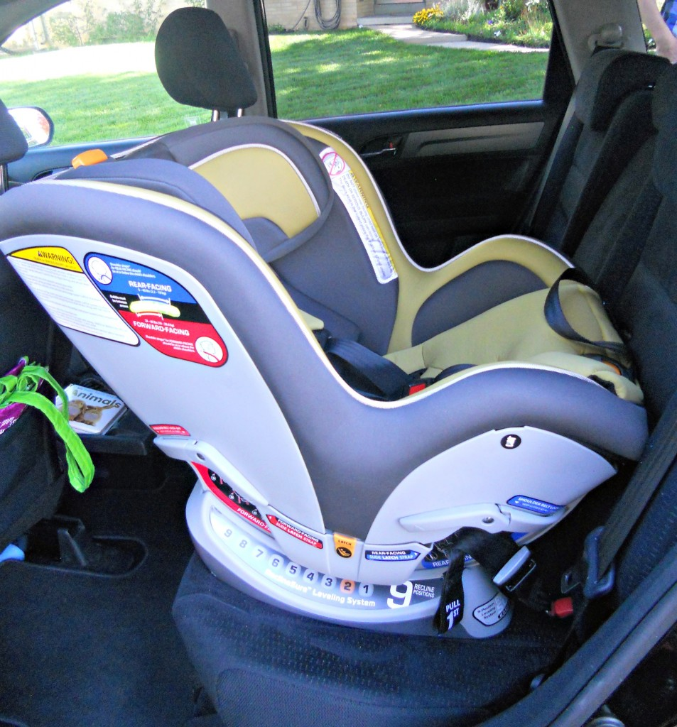 Chicco convertible car seat