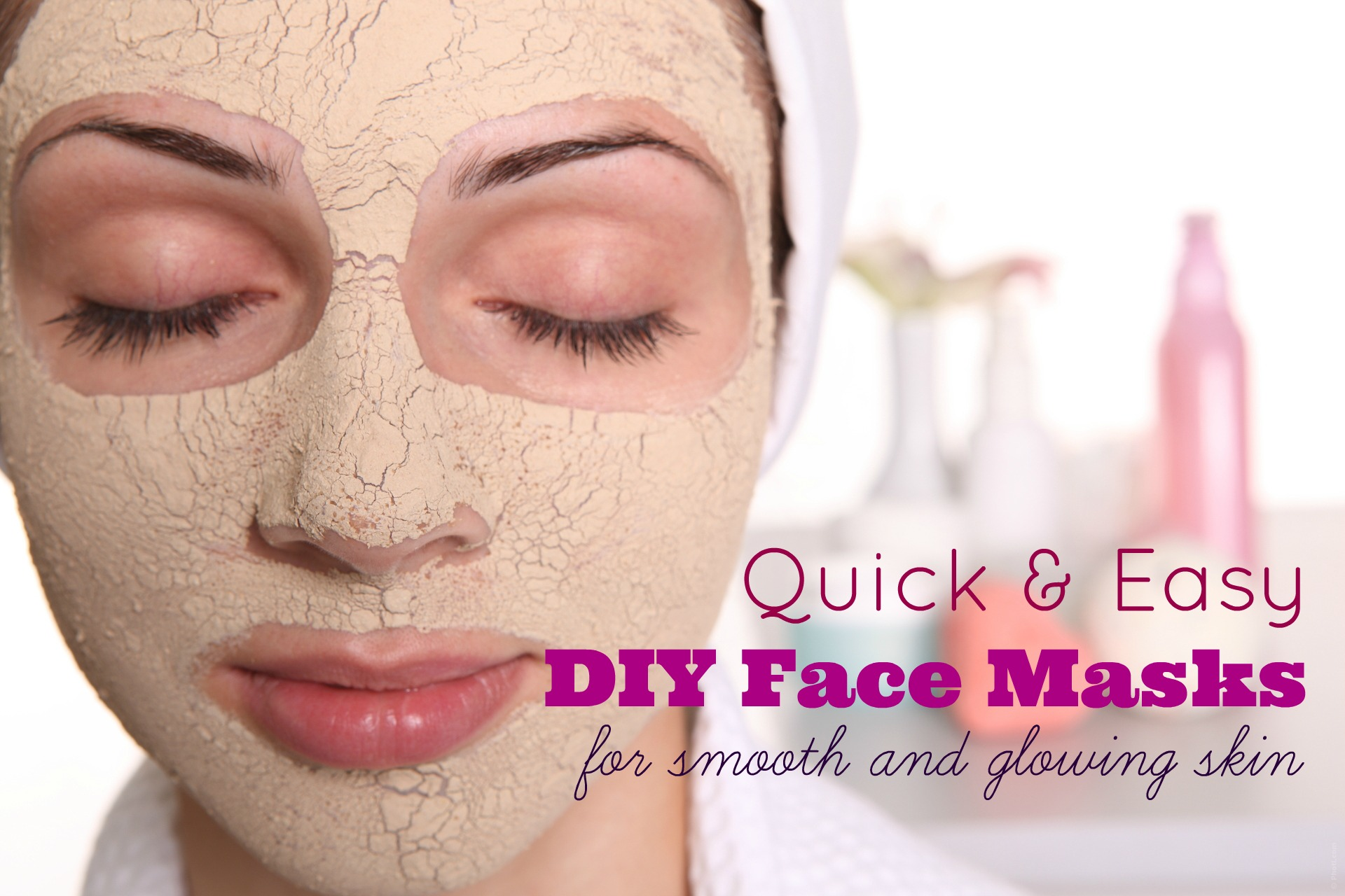 Quick and easy DIY smoothing face masks!
