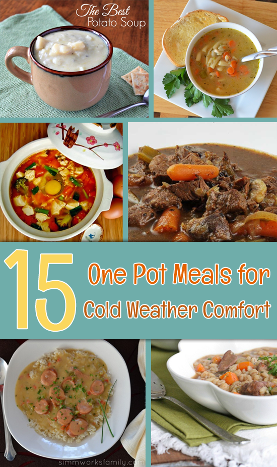 15 One Pot Meals for Cold Weather Comfort