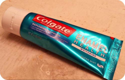 colgate enamel toothpaste