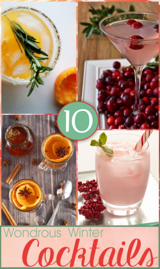 12 Wondrous Winter Cocktails