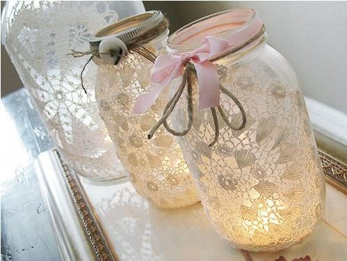 Handcrafted jar items