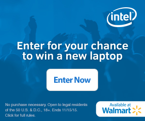 Are you ready for an #UpgradeWithIntel?  Enter to Win a new Laptop!