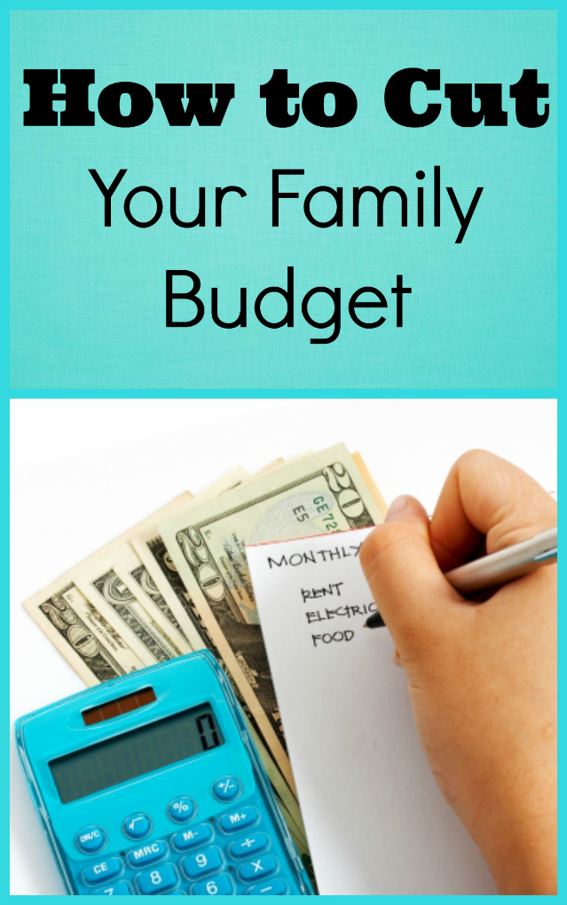 How to Cut Your Family Budget