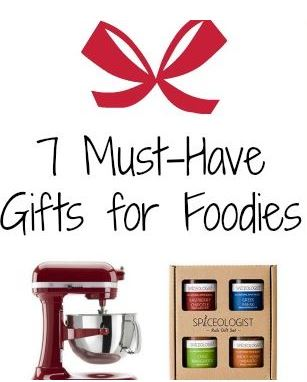 7 Must-Have Gifts for Foodies