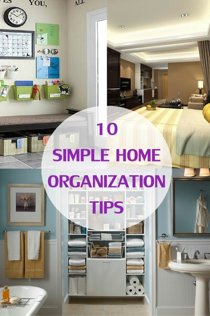 10 Simple Home Organization Tips Cocktails With Mom