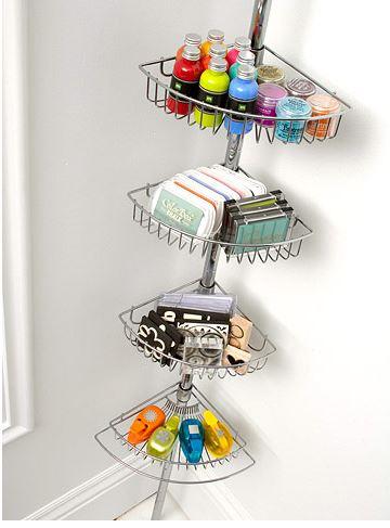 shower caddy storage