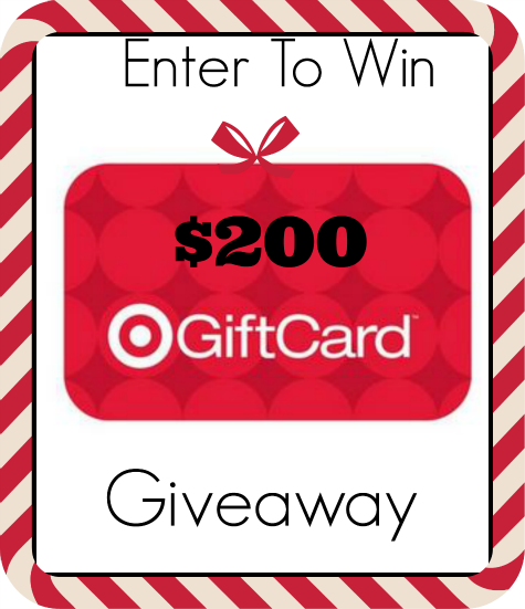 Enter for your chance to win A $200 Target gift card