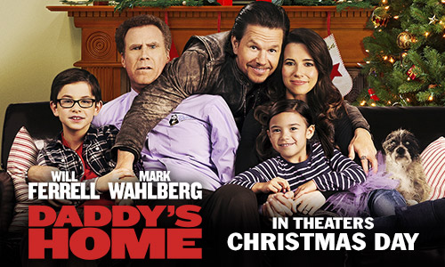 Daddy's Home In Theaters Christmas Day!  Watch the New Trailer + Giveaway #DaddysHome