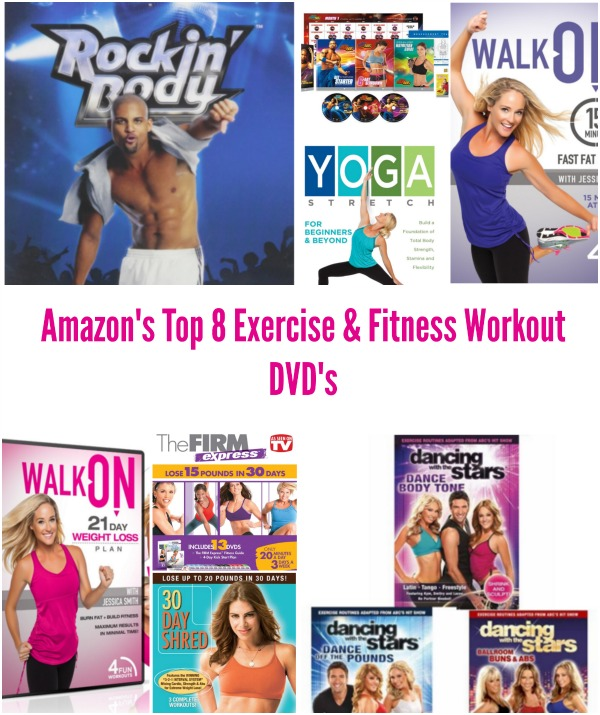 Amazon's Top 8 Exercise & Fitness Workout DVD's 2