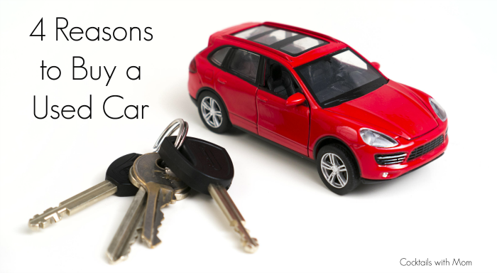 4 Reasons to Buy a Used Car